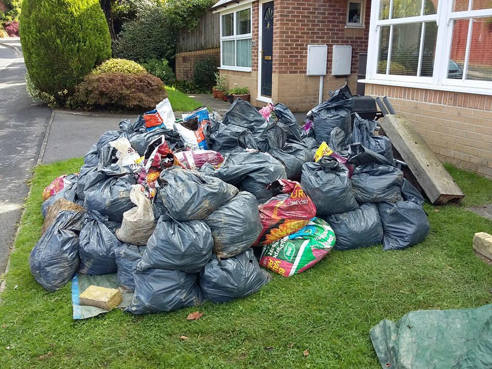 waste collection crowborough